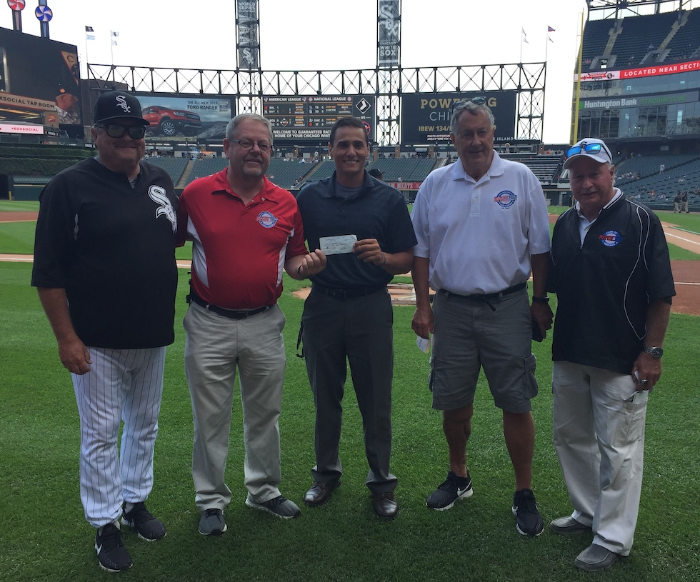 Pitch & Hit Club 2019 Presentation to the White Sox Charities
